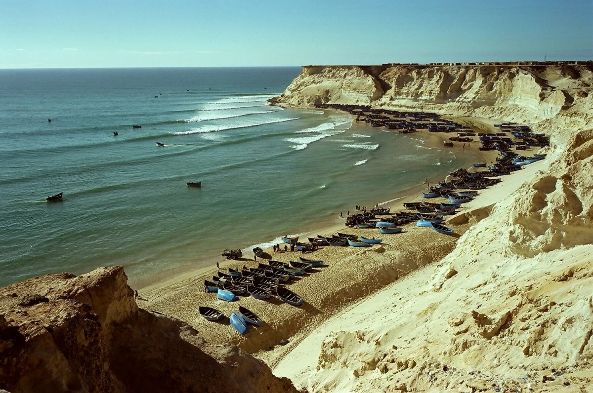 One Month Western Sahara Surf Guide.