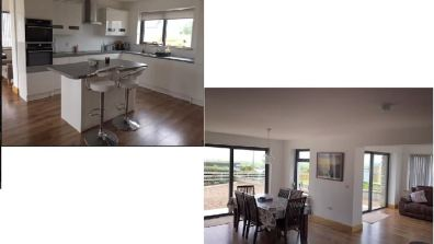 15 Rinn na Mara Dunfanaghy - open plan kitchen and dining area