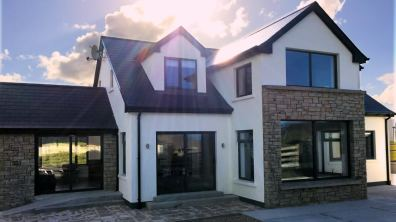 15 Rinn na Mara Dunfanaghy - patio area to rear of house