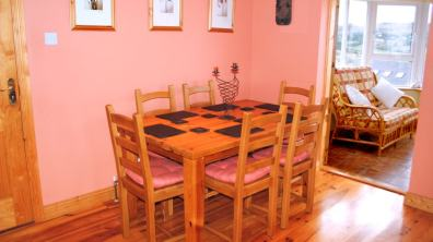 Haven Cottage Dunfanaghy - dining area