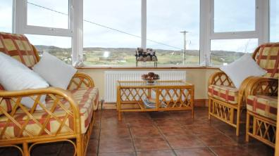 Haven Cottage Dunfanaghy - sunroom