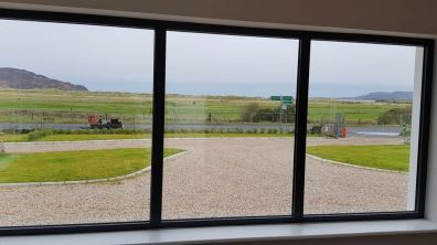To the front of the house there are views of the sea, golf course and Horn Head
