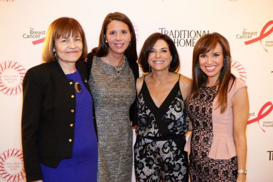 Peg Mastrianni and Lucretia Gilbert of BCRF, Iris Dankner, Sara Gore