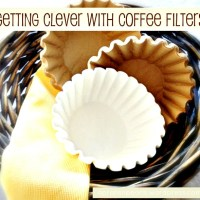 Getting Clever with Coffee Filters