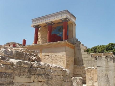 Отдых на острове Крит, дворец Кноссос