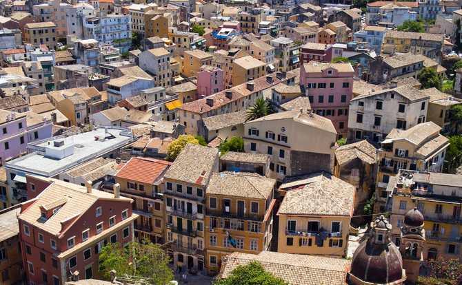 Отдых на острове Корфу - Керкира, старый город
