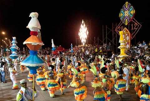 Отдых на Карибских островах, карнавал в Гаване
