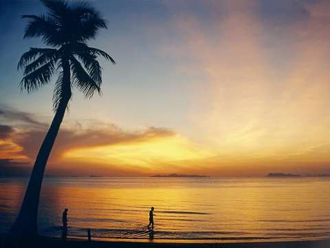 Отдых на островах Тайланда, остров Самуй - рассвет