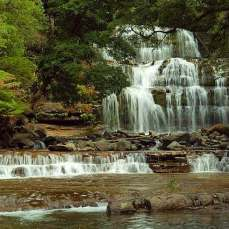 Остров Тасмания Водопад Liffey Falls