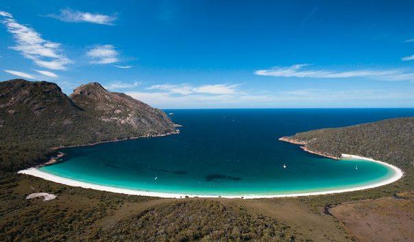 Остров Тасмания - национальный парк Фрейцинет