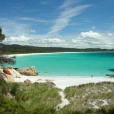 Тасмания - бухта в национальном парке Фрейцинет