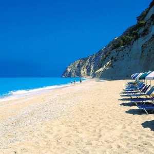 Остров Лефкада, Греция-удивительные пляжи Лефкаса