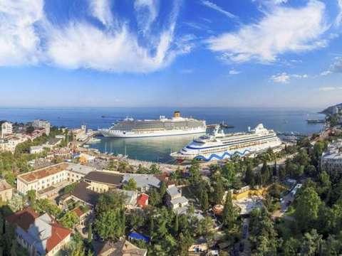 Ялта - лучший курортный город Крыма.