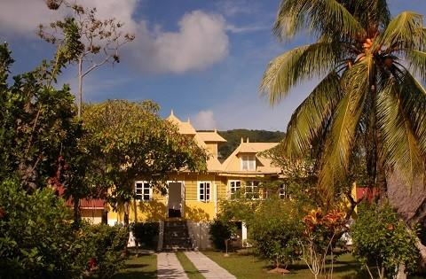 отдых на Сейшельских островах, остров Ла Диг - имеется большой выбор отелей