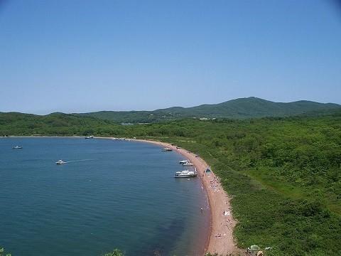 Отдых на острове Русском - бухта Рында