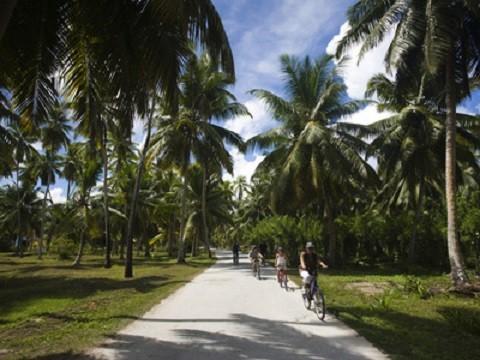 отдых на Сейшельских островах, парк Юнион острова Ла Диг
