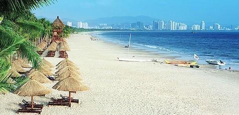 Отдых на острове Хайнань, Курорт Санья - прекрасные пляжи