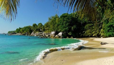 отдых на Сейшельских островах - прекрасные пляжи острова Силуэт