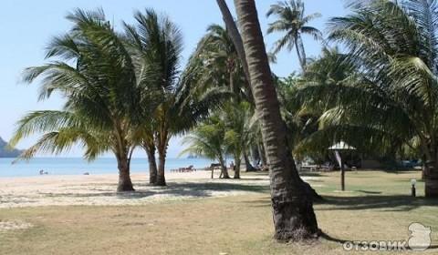 Отдых на островах Тайланда, остров Ко Мак, пляж отеля