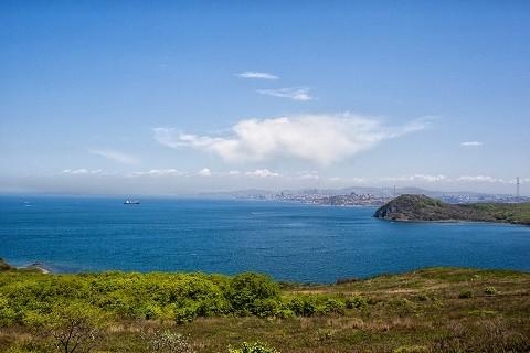 Отдых на острове Русском - бухта Бабкина
