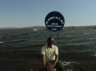 Myself at the Source of the Nile