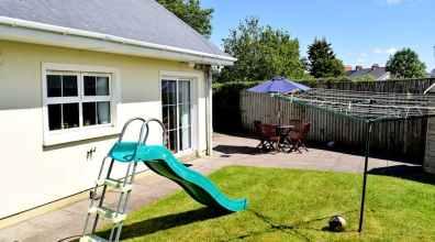 Rear garden of Milltown Mews Holiday Home Rathmullan