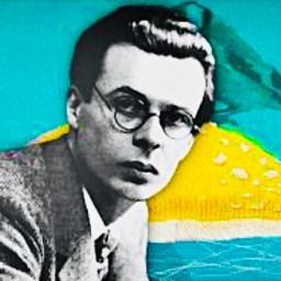 "Aldous Huxley, ""Island"", 1962."