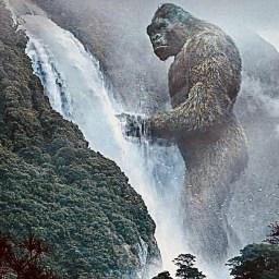 "Edgar Wallace & Merian C. Cooper, ""King Kong"" (Delos W. Lovelace, novelized), 1933."