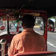 Photo for the blog post about the best places in Sri Lanka. Tuk-tuk driver.
