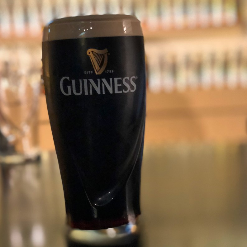 The perfect pint of Guinness beer