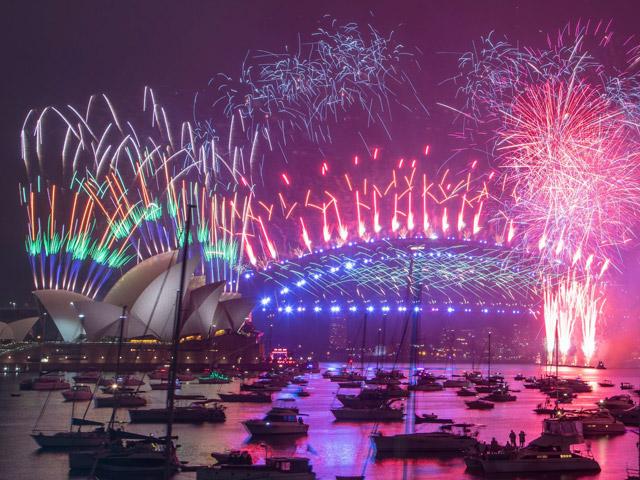 Sydney new year