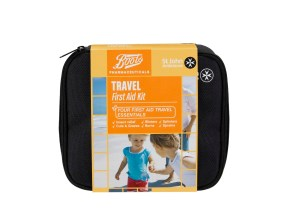 Boots Pharmaceuticals & St John Ambulance Travel First Aid Kit