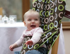 Tot Seat - for babies who lunch!