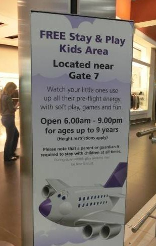 Heathrow stay and play