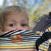 Holiday Tots review the Tula Ergonomic Toddler carrier