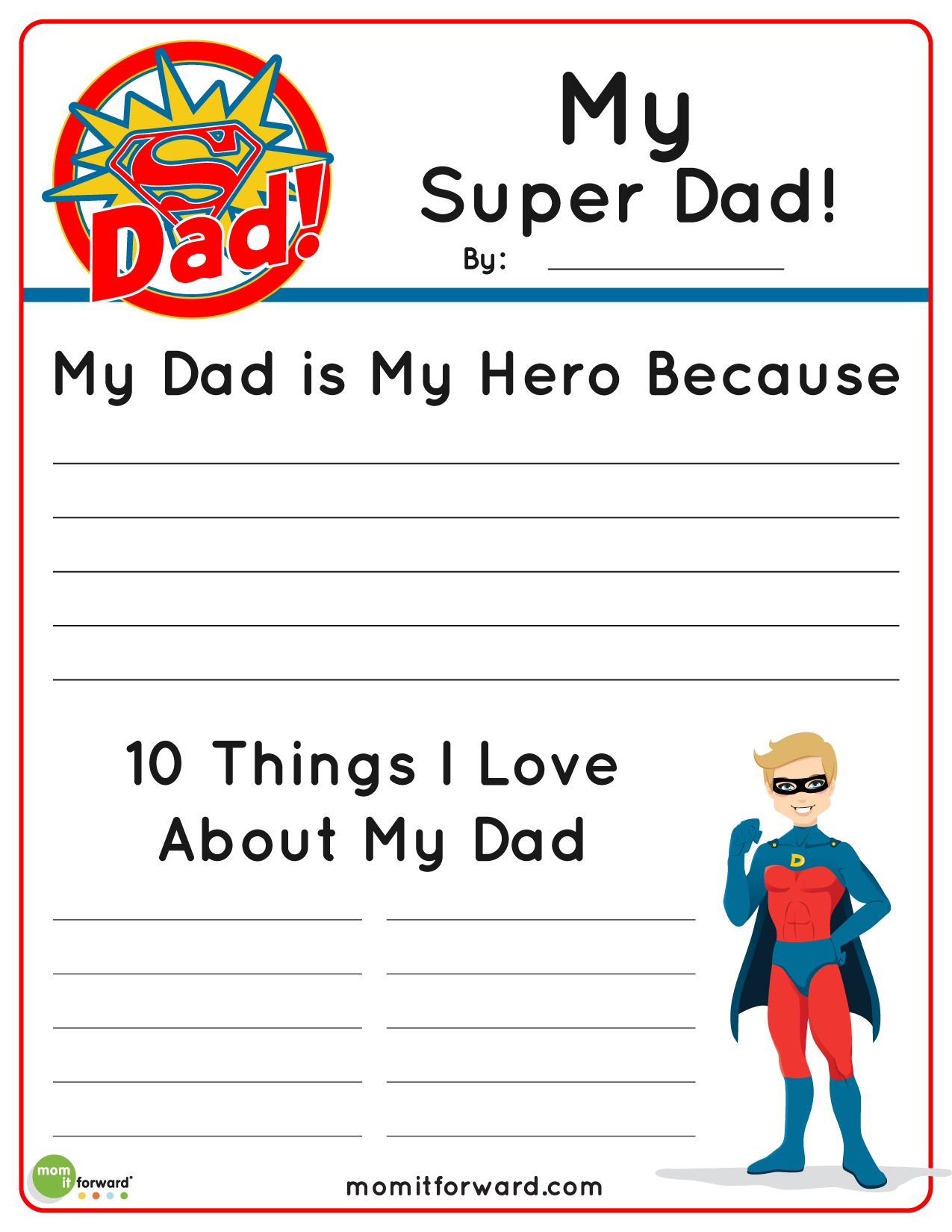 15 Printable Father S Day Coloring Pages
