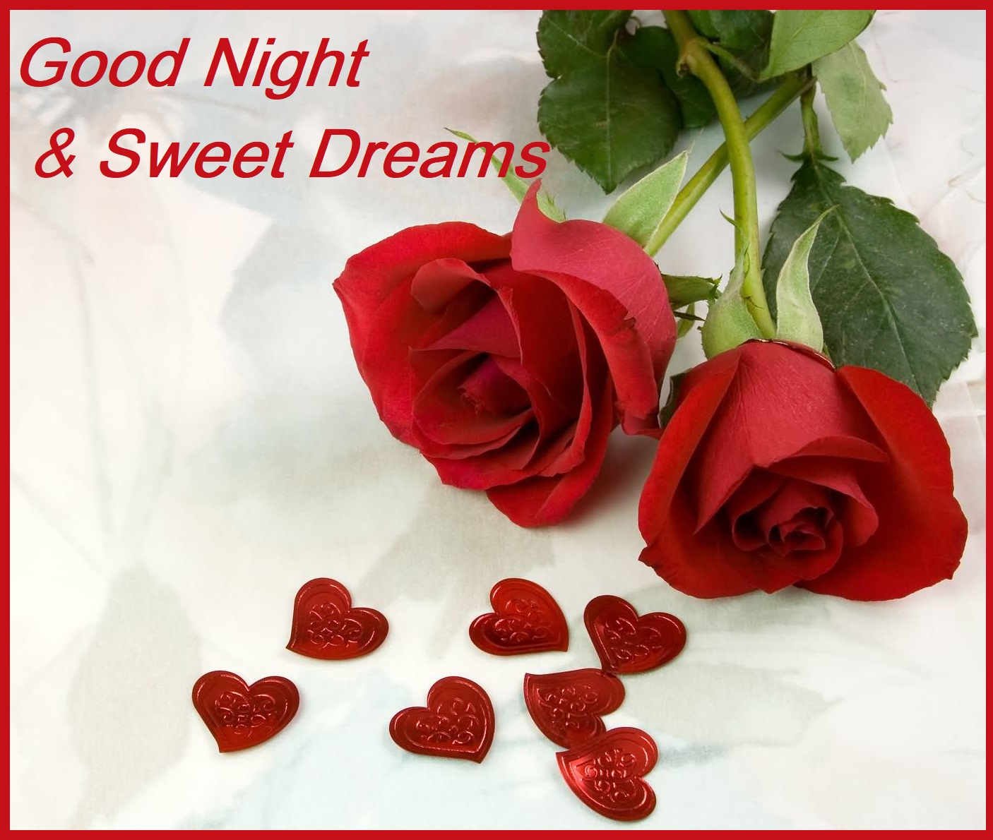 goodnight sweet good evening rose picturesque www