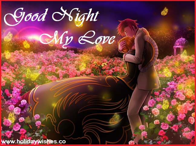 Most Beautiful Good Night My Love Images, Greeting Pictures