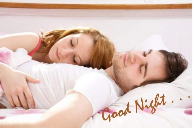 Wonderful Romantic Good Night With Young Love Couple