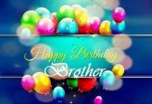 Best Happy Birthday Brother Wishes, Pictures