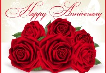 Beautiful Happy Anniversary Wallpapers With Rose Flowers