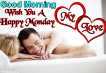 Romantic Couple Happy Monday Good Morning Pictures