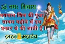 जानिए भगवान शिव पूजा सावन महीने में कैसे करनी चाहिए