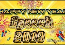 Happy new year speech for student image