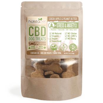 HolistaPet – CBD Dog Treats +Stress & Anxiety Relief