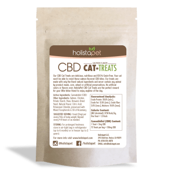 Holistapet Cbd Cat Treats Back Label