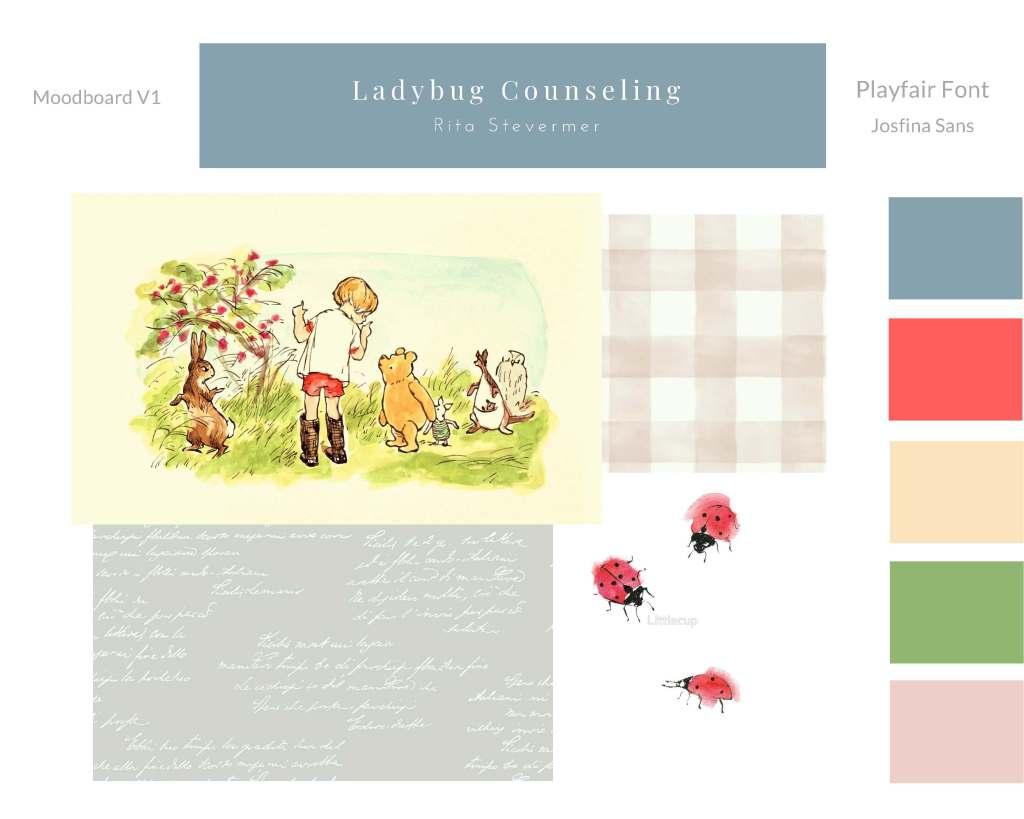 Ladybug counseling-MOODBOARD