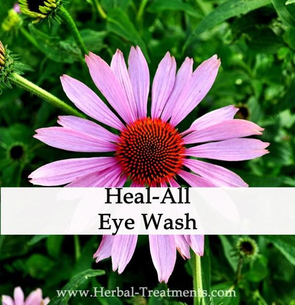 Herbal Eye Wash for Eye Infection, Irritation, Conjunctivitis