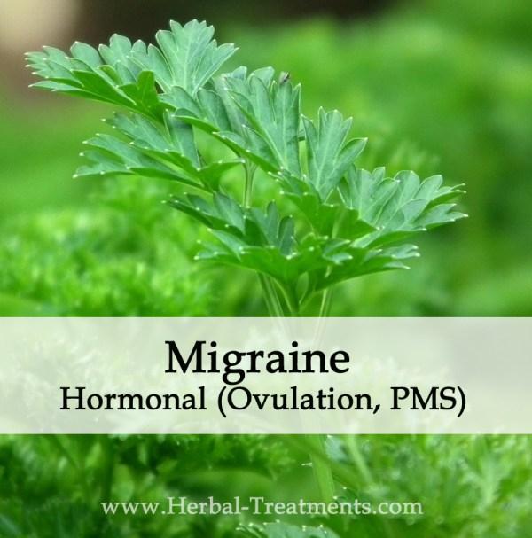 Herbal Medicine for Migraine Hormonal (Ovulation, PMS, PMT)
