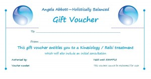 Holistically Balanced Gift Vouchers